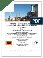 ANNEXE- 10.2 Integrite Technique- Reservoirs de Stockage
