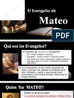 Presentacion PB Libro de Mateo
