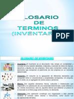 Glosario de Terminos Inventario PDF