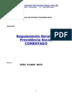 APOSTILA_-_Direito_Previdenciário_-_Regulamento_Geral_da_Previdencia_Social_Comentado[1]