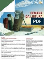cartaz semana da leitura