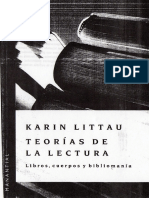 Karin Littau - Teorias de La Lectura
