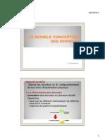 LE MODELE CONCEPTUEL DES DONNEES
