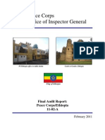 Peace Corps Ethiopia Final Audit Report    IG1102A