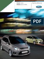 Ford (Grand-) C-MAX Brochure 2010-10