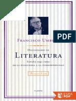 Vsip.info Diccionario de Literatura Francisco Umbral PDF Free