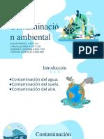 Charla. Seminario de topicos. UTP. La contaminación (1)