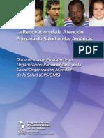 OPS-OMS - Renovacion APS en Las Americas 2007