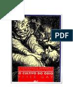 Peter Gay - A Experiência Burguesa_ O Cultivo Do Ódio