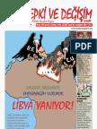 Tepki ve Değişim Dergisi Nisan 2011 sayısı - Sayı 38