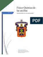 FÍSIO-QUÍMICA DE LAS ARCILLAS