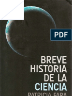 Patricia Fara Historia Cencia