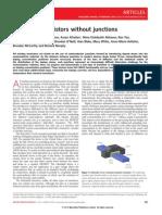 Nature Nanotechnology 2010 Colinge-Nanowire transistors without junctions