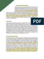 LECTURA DE DESARROLLO PERSONAL