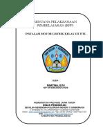 HALAMAN JUDUL ( COVER RPP  )
