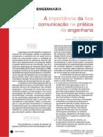 A importância da boa comunicação na prática da engenharia