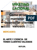 Marketing relacional - Filosofía integral del cliente