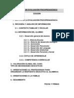 39 INFORME DE EVALUACIÓN PSICOPEDAGÓGICA