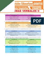 4.° secundaria - Competencia Lingüística - Normativa verbal II [Material]