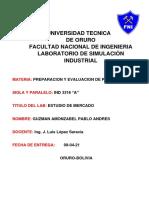 ESTUDIO DE MERCADO IND 3216