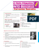5.° primaria - Literatura - Siglo de Oro español. Miguel de Cervantes Saavedra [Material]