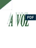 Apostila_A Voz