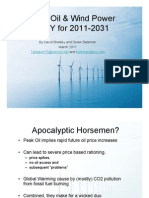 Peak Oil & Wind Power in NY (presentation)