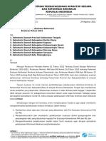 Surat Undangan Eval RB Kalteng