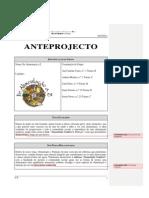 Ante - projecto reformulado