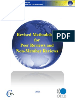 Methodology for Peer Reviews and Non-Member Reviews