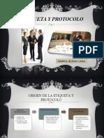 DEFINICIÓN DE ETIQUETA Y PROTOCOLO