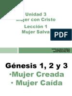 7- Lección 1, Unidad 3 Ministerio de la Mujer CLI