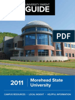 2011 Morehead State University Parent Guide