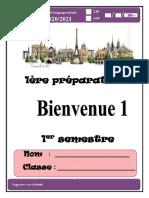 1ère préparatoire  2021 - 2022