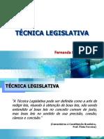 Curso de Técnica e processo Legislativo M4 2018