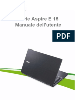 Acer Aspire e 15-Manuale