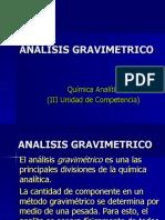 ANALISIS GRAVIMETRICO presentation