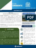 DMA 4 - QUALIDADE DO AR - SEMANA 09.08 A 13.08
