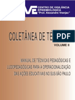 Manual de Técnicas Pedagógicas - SUS