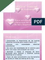 Cómo mejorar nuestras relaciones humanas - Breve estudio sobre los 5 lenguajes del Amor de Gary  Chapman