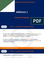 Contrato de Trabalho -Aprendiz - PCD
