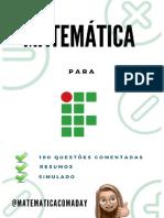 eBook-matemática Para If