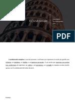 Lingua Italiana - Il Condizionale