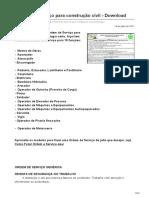 segurancadotrabalhonwn.com-Ordens de serviço para construção civil  Download