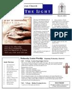Farmington Lutheran Church March 2011 Newsletter