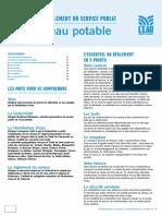 Règlement du service public eau potable de L'Eau Bordeaux Métropole