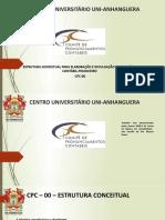 CPC 00 -CONCEITUAL PARA ELABORACAO E DIVULGACAO DE RELATORIO CONTABIL FINANCEIRO