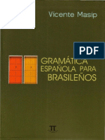 Vicente Masip - Gramatica Española Para Brasileños