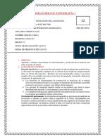 LABORATORIO DE TOPOGRAFÍA 4