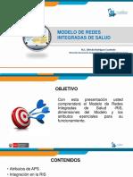 2 Modelo de Redes Integradas de Salud